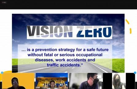 """สมาคมส่งเสริมความปลอดภัยจัดกิจกรรมอบรมเชิงปฎิบัติการออนไลน์ หลักสูตร """"VISION ZERO – Train The Trainers สำหรับผู้สอน"""""""